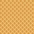 Vector Waffle Background. Vector Illustration