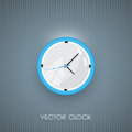 Vector wall clock icon illustration of Royalty Free Stock Image