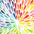 Vector watercolor colorful abstract background. Collection of pa