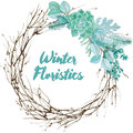 Vector Watercolor Floristic Composition Royalty Free Stock Photo