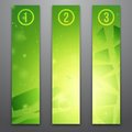 Vector web banners Royalty Free Stock Photo