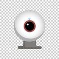 Vector web camera icon