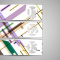 Vector web element for your design abstract illustration Royalty Free Stock Image