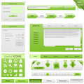 Vector Website Design Elements Royalty Free Stock Photo