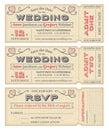 Vektor svadba pozvať