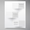 Vector white squares abstract backround this is file of eps format Royalty Free Stock Photo