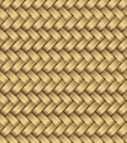 Vector wicker placemat seamless design of or rattan or bamboo material makes a texture background Stock Image