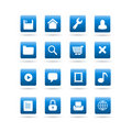 Vector widget desktop icons Stock Photography