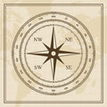 Vector Wind rose on a world map background Royalty Free Stock Photo