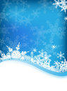 Vector Winter Background