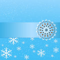 Vector winter background with floral elements. Wedding invitation and announcement card