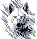 Vector Wolf Stock Photos
