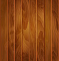 Vector wood background texture of brown wooden planks Royalty Free Stock Photo