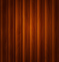 Vector wood background texture of dark brown wooden planks Royalty Free Stock Images