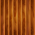 Vector wood background texture of light brown wooden planks Royalty Free Stock Photography