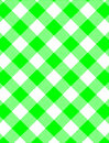 Vector Woven Green Gingham Stock Images