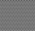 Black Geometric Seamless Zigzag pattern in white background