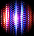 Vector zigzag striped abstract background Stock Photography