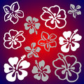 Vectorial flower pattern Stock Image