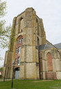 Veere old church of the beautiful town of close to middelburg zeeland the netherlands Stock Photo