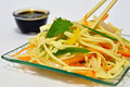 Veg noodles Royalty Free Stock Image