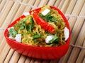 Veg Noodles Royalty Free Stock Photo