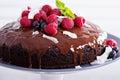 Vegan chocolate cake Royalty Free Stock Photo