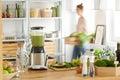 Vegan eco kitchen Royalty Free Stock Photo