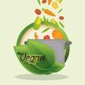 vegan food diet healthy nutrition