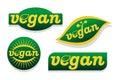 Vegan food symbol