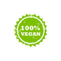 VEGAN stamp sign