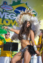 Vegas loves brazil las april samaba dancer participate in the festival in las on april is the Royalty Free Stock Photography