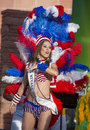 Vegas loves brazil las april samaba dancer participate in the festival in las on april is the Stock Photography