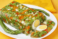 Vegetable aspic Royalty Free Stock Photos