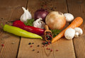 Vegetable Background Royalty Free Stock Photo
