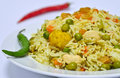 Vegetable Biryani Royalty Free Stock Photography