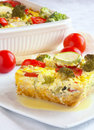 Vegetable casserole Royalty Free Stock Image