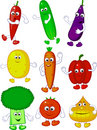 Vegetable character Stock Photos