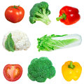 Vegetable collection Royalty Free Stock Images