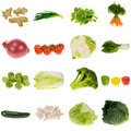 Vegetable collection Stock Image