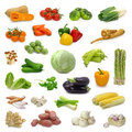 Vegetable collection Royalty Free Stock Photo