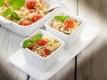 Vegetable couscous with tomatoes Stock Photos