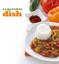 Vegetable dish Royalty Free Stock Photos