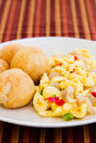 Vegetable Dumpling with Saltfish Royalty Free Stock Image