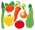 Vegetable family. Stock Images