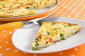 Vegetable Frittata Stock Image