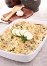 Vegetable gratin Royalty Free Stock Photos