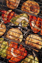 Vegetable - grill. Stock Photos
