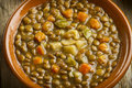 Vegetable lentil soup Royalty Free Stock Photo