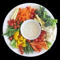 Vegetable platter Royalty Free Stock Photo